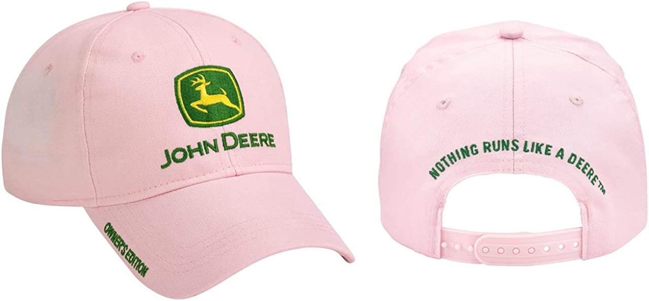John Deere Pink Owner's Edition Cap JD Hat