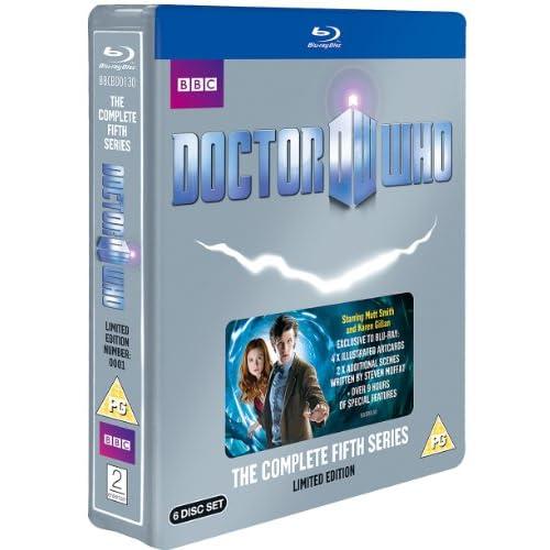 Doctor Who - Complete Series 5 Box Set (Limited Edition Steelbook) [Edizione: Regno Unito]