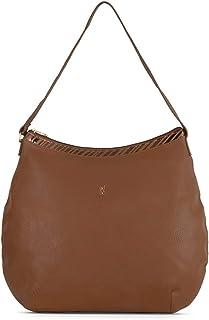 Baggit Spring-Summer 2020 Faux Leather Women's Hobo Handbag (Brown) (Lxe Horizy)
