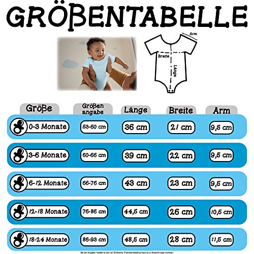Shirtracer Evolution Baby - Mountainbike Evolution - 1/3 Monate - Babyblau - Body Mountainbike - BZ10 - Baby Body Kurzarm für Jungen und Mädchen
