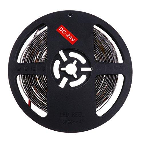 Sharplace 5 Mètre Lumière LED Strip 300 LED Ampoules Rouleau Bande de Lumière Camion - Blanc