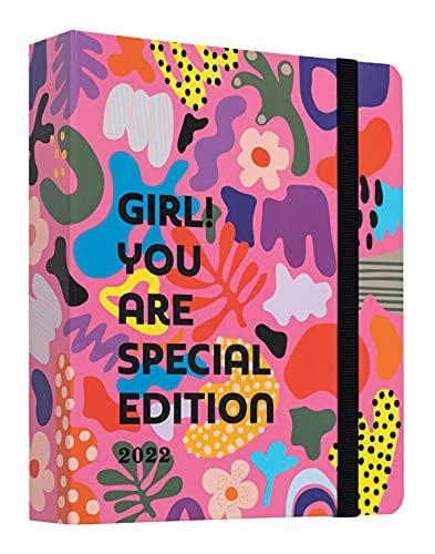 Kokonote Agenda Settimanale 2021 2022 Girl! You are Special Edition, Agenda 17 mesi da agosto 2021 a dicembre 2022, Adatto per scuola, lavoro e tempo libero, 20x16,5 cm