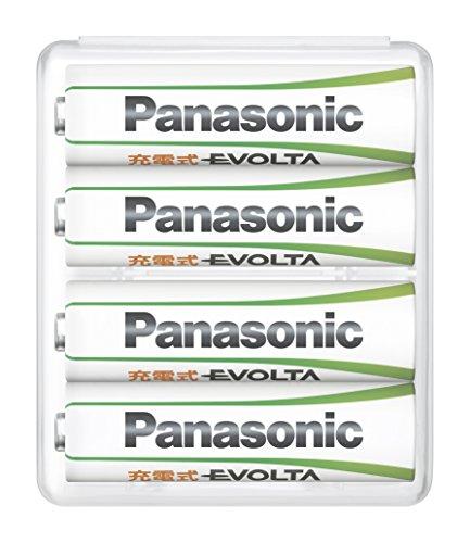 パナソニック充電式エボルタ単3形4本パック(スタンダードモデルBK-3MLE/4BC