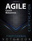 AGILE Coach Notebook, Certification Exam Preparation Notebook, examination study writing notebook,...