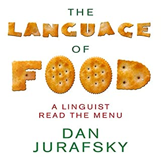 The Language of Food audiobook cover art