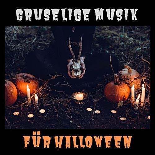 Gruselige Musik für Halloween: Gruselige Lieder für Halloween Atmosphäre, dunkle Filmnacht