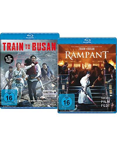 Bundle: Train to Busan / Rampant LTD. [Blu-ray]