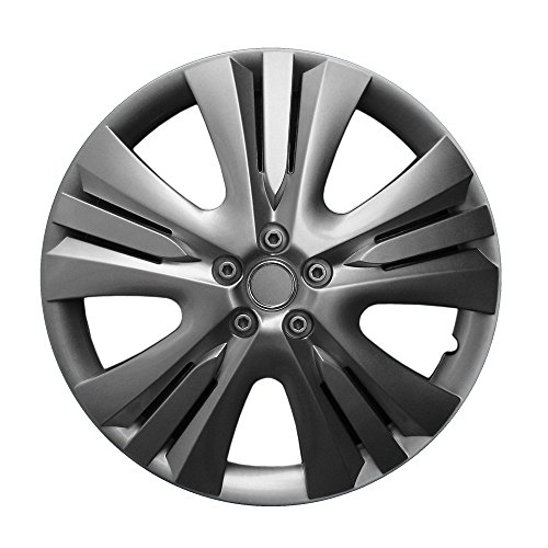 CM DESIGN 14 Zoll Radkappen Lexis (Graphit) passend für Fast alle Fahrzeugtypen