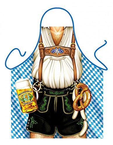 itati Bilderschürze - Bayer - lustige Oktoberfest Mann mit Lederhosen