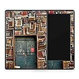 Skins4u Amazon Kindle Skin Aufkleber Design Schutzfolie Library