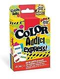 Droles de Jeux- Color Addict Express-Jeu de 55 Cartes, 130008025, Jaune