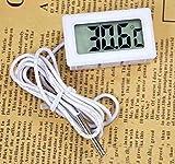 SANDIN 1pc Display digitale elettronico Indicatore di temperatura dellacqua del frigorifero dellacquario Termometro per congelatore