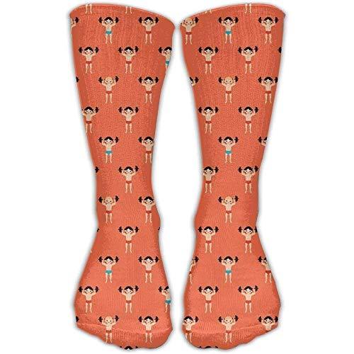 Cool Crazy Socken zum Gewichtheben, Body-Builder-Muster, lustige Baumwollsocken
