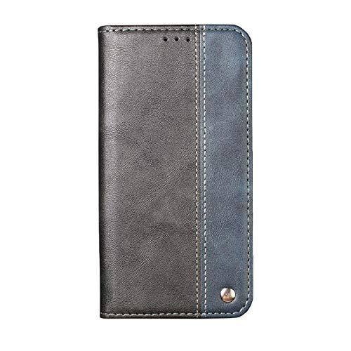 Ailisi Cover Galaxy S7 Edge Custodia, Premium Flip Cover Magnetica Custodia Pelle PU Portafoglio Protettiva Caso Libro, Stand Supporto per Samsung Galaxy S7 Edge -Nero+Blu