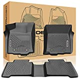oEdRo Custom Fit Floor Mats Fits for 2016-2017 Toyota Tacoma Double Cab...