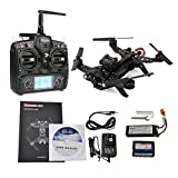 Walkera Runner 250 Racing Drone RTF with Devo 7, FPV Camera, Video Transmitter and OSD(Exclude GPS)