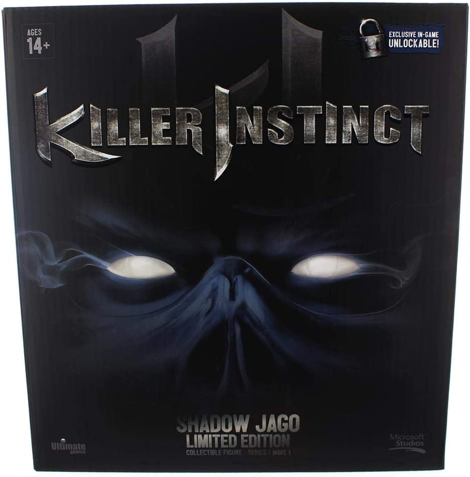 Ultimate Source Killer Instinct 6 Limited Sh High quality new Inch Edition Figure Attention brand