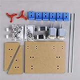 KINGDUO 1 Set Bricolage Bateau Hélice Kit Watercraft Moteur Arbre Modèle Rc Hobby Main Learning Toy