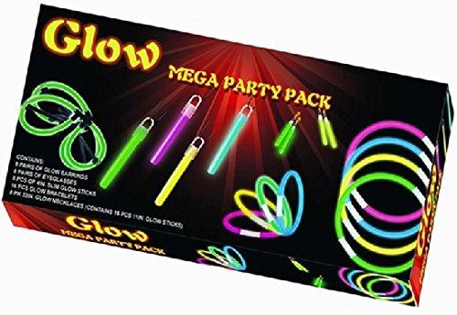 Knicklichter Mega Party Set 14990 Ohrringe Armbänder Brillen Halsbänder usw
