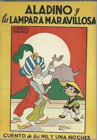 ALADINO Y LA LAMPARA MARAVILLOSA.