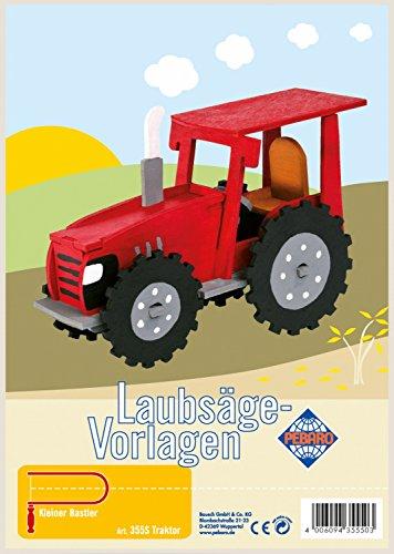 Pebaro Fretwork Tractor Artwork