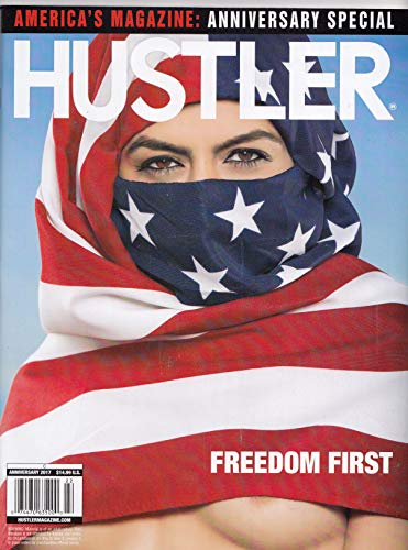 Hustler, Anniversary 2017, Brand New Factory Sealed w/DVD, Freedom First