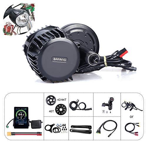 Bafang 8fun BBSHD 48V 1000W Kit de Motor Central Bicicleta eléctrica Ebike Display Motor Central sin batería