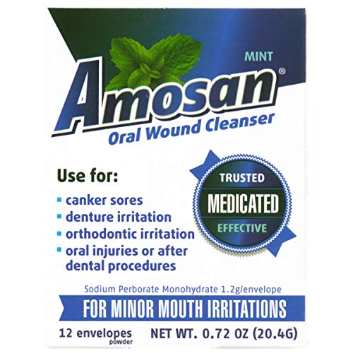 Amosan Oral Wound Cleanser