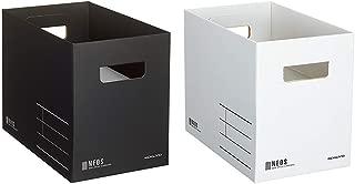 コクヨ 収納ボックス NEOS Mサイズ2色セット