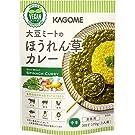 カゴメ 大豆ミートのほうれん草カレー170g ×5袋