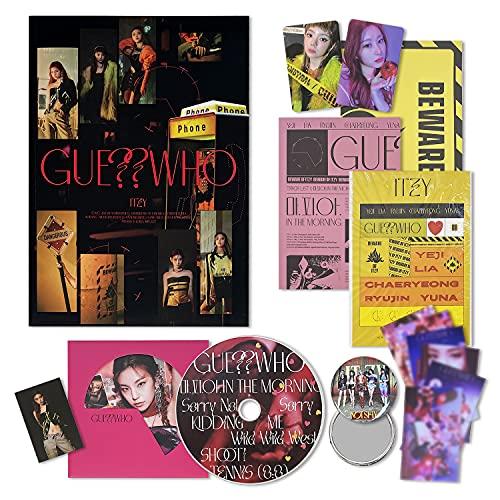 ITZY Mini Album - GUESS WHO [ DAY&NIGHT ver. ] CD+Photobook+Photocard+Mini Folding...