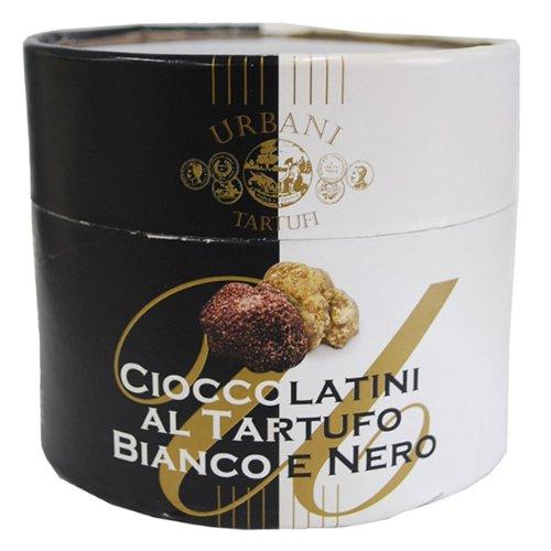 白/黒トリュフチョコレート 100gイタリア産 ウルバーニ社 12月初旬入荷予定