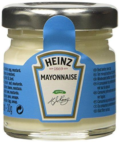 Heinz Maionese Mini Jar - Confezione da 80 Pezzi