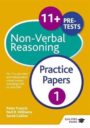 11+ Non-Verbal Reasoning Practice Papers 1: For 11+, pre-test and independent school exams including CEM, GL and ISEB