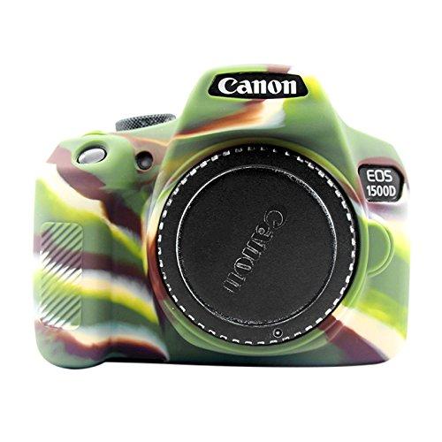 RUNNA Custodia Protettiva in Silicone Morbido for Canon EOS 1300D / 1500D (Colore : Color1)