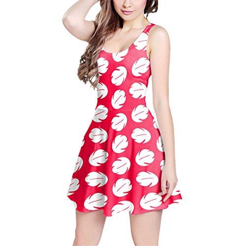 Lilo Hawaiian Dress Disney Inspired Sleeveless Dress - S Kleid