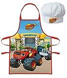 Photo de Tablier et toque de chef cuisinier Blaze et les Monster Machines - Enfant cusine garçon 3/8 ans - 163