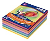 Art Street Lightweight Construction Paper, 10 Assorted Colors, 9' x 12', 500 Sheets