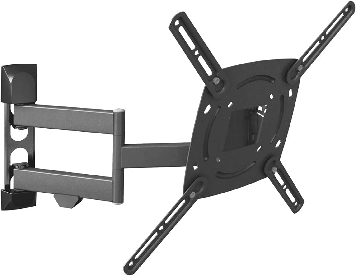 Barkan L4TVM Full Motion Curved Flat TV Wall Mount for 29  -65  Screens up to 7 lbs, Articulating. 10 Year Warranty.