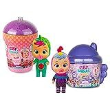 Bebés Llorones Lágrimas Mágicas - Pack de 2 casitas: 1 Casita Tutti Frutti + 1 Casita Alada Fantasy; 2 mini muñecas sorpresa que lloran de verdad con 18 accesorios