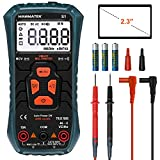 HANMATEK Multimeter Auto-Ranging Digital Multimeter, Electrical Tester with NCV,True RMS 4000 Counts AC/DC Voltmeter Ammeter Ohmmeter, Resistance, Live Line Digital Testers with LCD Backlight