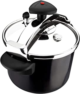 MAGEFESA Castell Pressure Cooker, Black - 6 Liters