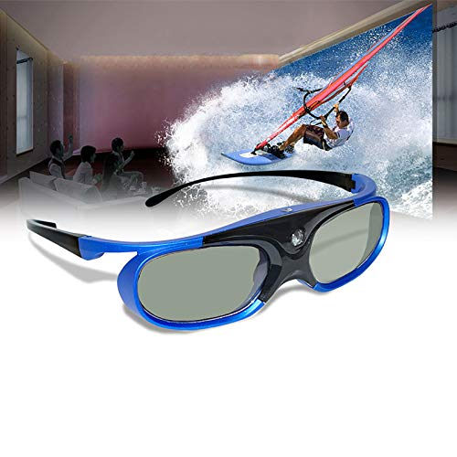 DLP Link 3D Glasses For BenQ Acer X118H P1502 X1123H H6517ABD H6510BD Optoma JmGo V8 XGIMI Projector, Can't Used for TVs