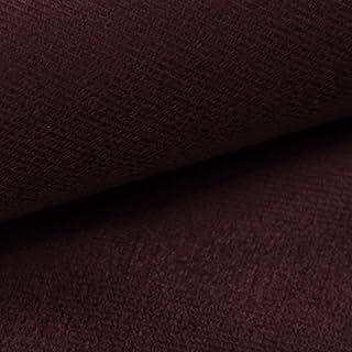 NOVELY ARTENA Möbelstoff   Velours   samtig weich   Polsterstoff   Bezugsstoff   PFLEGELEICHT   ANSCHMIEGSAM 06 Bordeaux