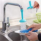 Inditradition Kitchen Sink Tap Faucet Nozzle, with 2 Types Water Flows (Adjustable, Plastic, Assorted Colour)