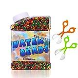 E-Bestar 50000 PCS Bolas de Gel de Agua para niños,No-Toxicas Hidrogel Bolas Perlas de Gel Water Beads Cuentas de Agua de Crecimiento para niños,Florero,Decoración,Plantas,Flores