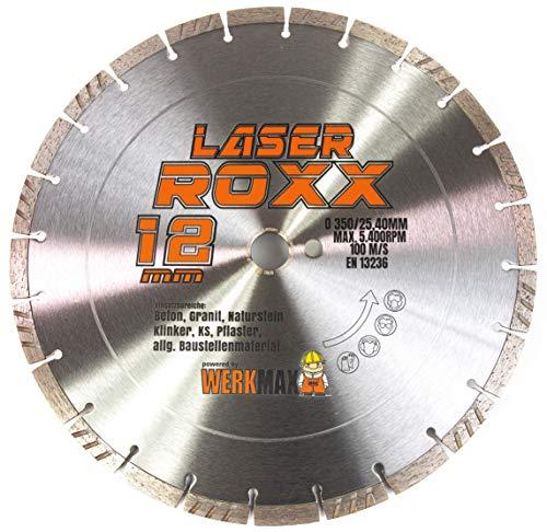 Neuentwicklung: Laser ROXX Diamantscheibe 350 x 25,4 mm | universal