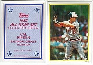 Cal Ripken Jr. Glossy All-Star Baseball Card