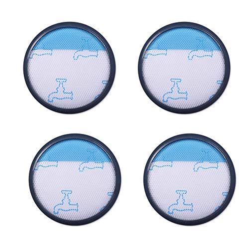 Fantisi 4 filtros HEPA para Rowenta/Moulinex/Tefal Compact Power Cyclonic Series (comparado con ZR005901)