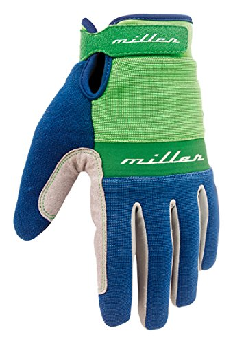 Miller Division S02GM0000 - Guantes, Color Azul Navy, Talla S